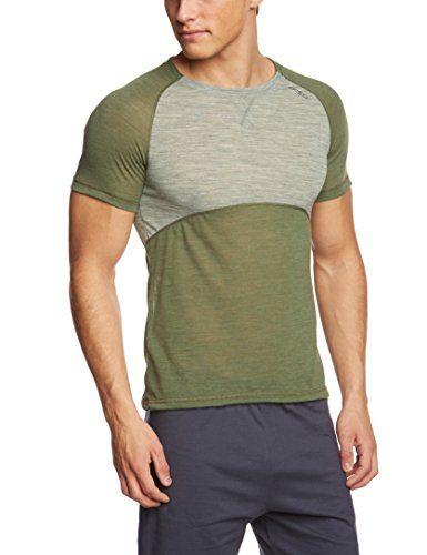 Odlo Herren Unterhemd Shirt Short Sleeve Crew Neck Revolution TW Light