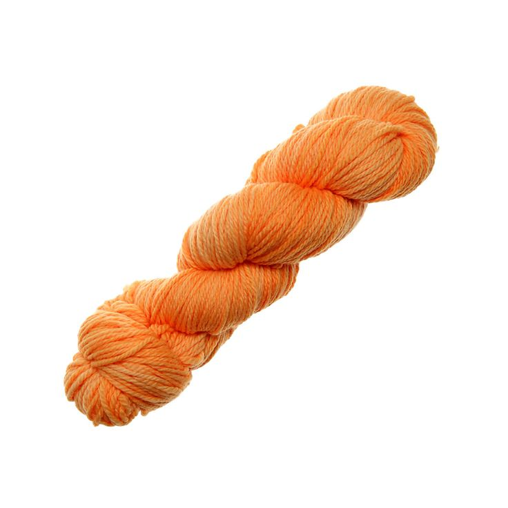 Hand Dyed by Kate - Worsted - Yarn Lovers Neon Peach