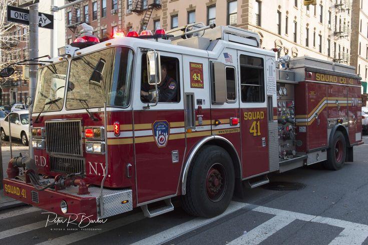 Fdny squad 41 bronx fire trucks fdny fire engine
