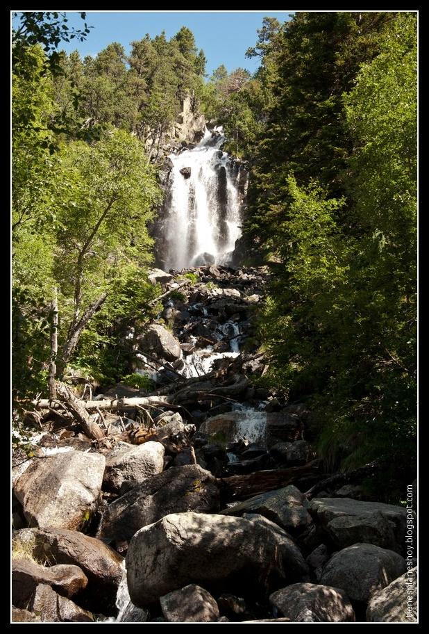 Parque Nacional Aigüestortes: Cascada Ratera