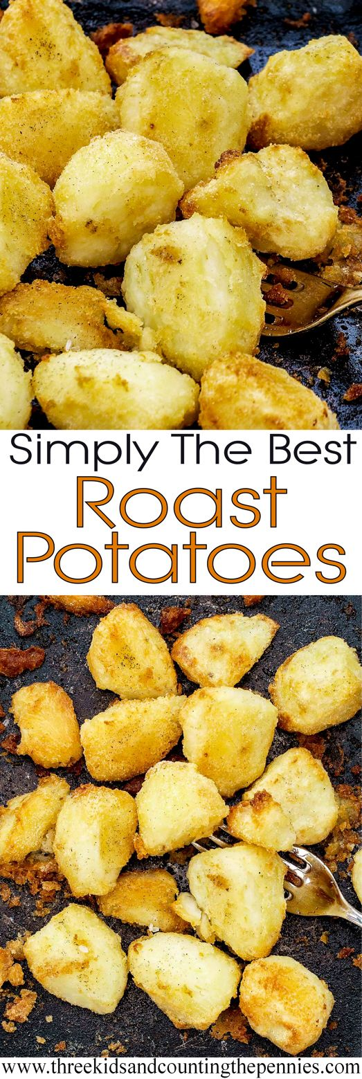 Simply The Best, and delicious, Roast Potato recipe.