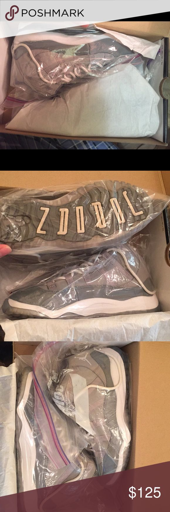 Retro Jordan 11 Cool Grey Size 2 1/2 Retro Jordan 11 Cool Grey Size 2 1/2 as seen in pictures rarely worn . Shoes Sneakers