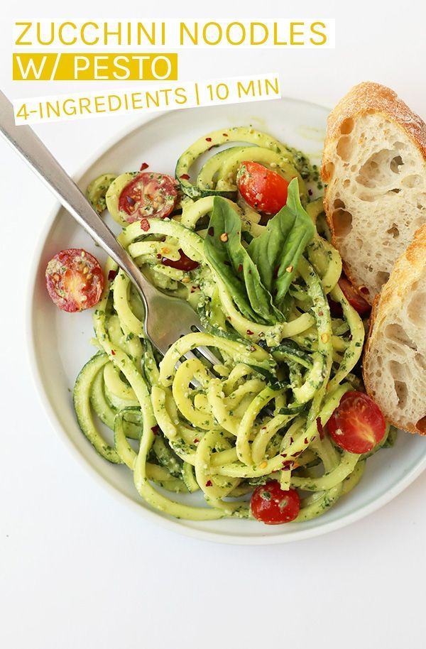 Zucchini Noodles With Pesto Noodles Pesto Zucchini In 2020 Whole Foods Meal Plan Vegan Meal Plans Zucchini Noodles With Pesto