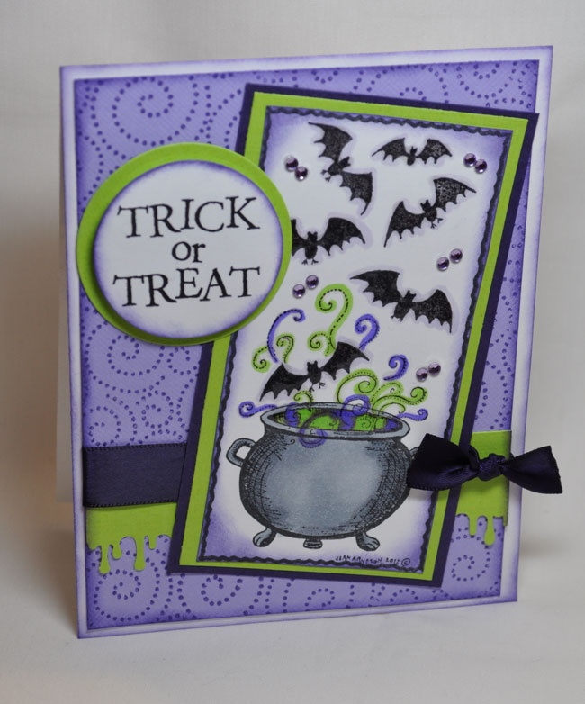 Join Cindy Saturday 9-29-12 for an all new card class with a Halloween theme (my personal favorite!).  We will be making a total of 8 cards (2 of each of the 4 designs).    Note the new time for my classes:  11:30 AM - 2:30 PM.
