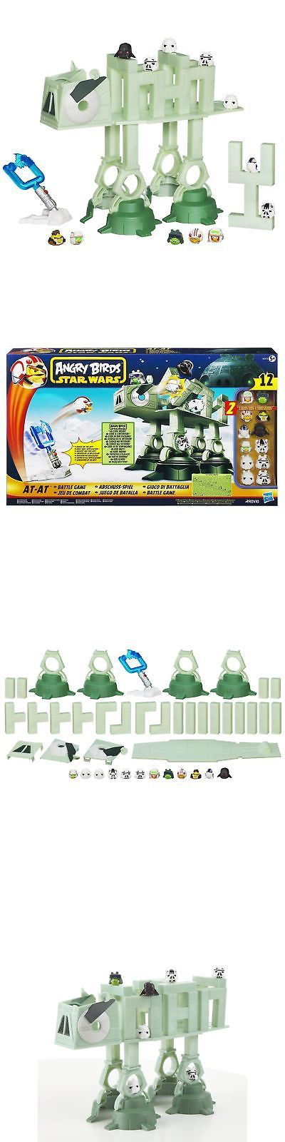 Plastic Action Games 165969: Angry Birds Star Wars At-At Attack Battle Game -> BUY IT NOW ONLY: $34.77 on eBay!