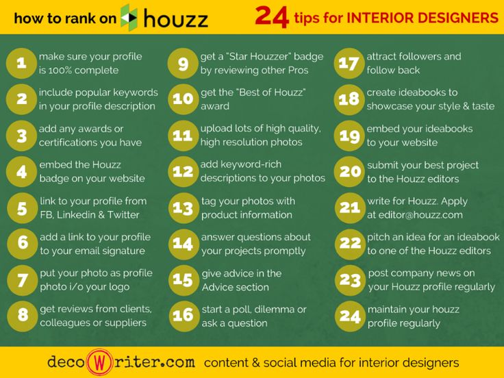 How To Rank On Houzz 24 Tips For Interior Designers With 25 Million Monthly