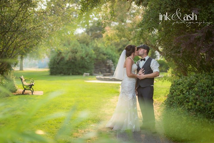 Outdoor Wedding Shoot. Photo by Ink and Ash Photography