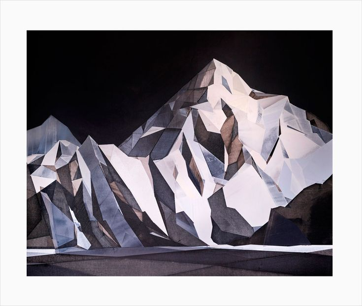 'K2' giclee print by Berlin-based artist Torben Giehler. Available here: http://www.nellyduff.com/gallery/torbengiehler/k2