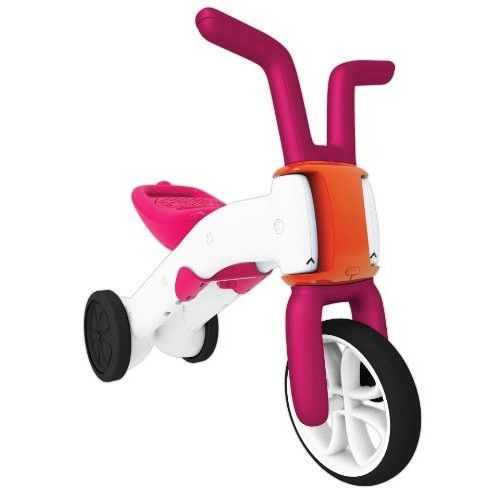Chillafish Bunzi 2-in-1 Gradual Balance Bike and Tricycle, Pink [Pink, Standard Packaging]