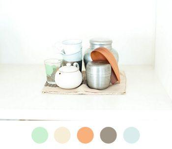 03-sourceunknown.jpg 350×303 pixels: Houses Colors, Muted Colors, Minti Colors, Colors Combos, Colors Collection, Color Palettes, Bathroom Colors, Soft Colors, Gender Neutral Colors Palettes