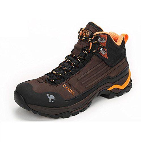 Men's Outdoor Professional Hiking Shoes Color Brown Size 42 M EU