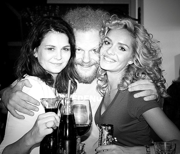 Lucie, Tana & Tomas Sedlacek na Snedeno