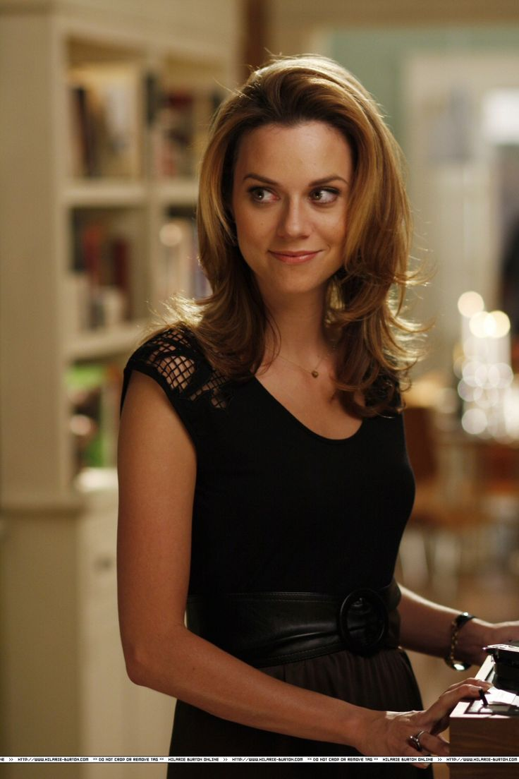 Hilarie Burton love the layers