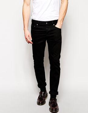 Ingrandisci ASOS - Jeans slim neri