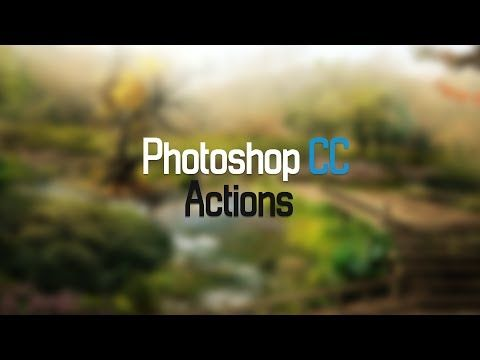 Photoshop CC 25: Take Action! Automate your Workflow with Actions. - YouTube