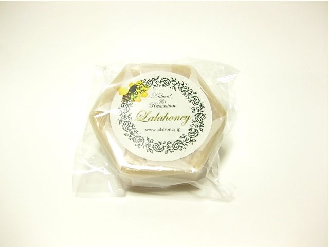 Honey beeswax cold process soap using olive oil 手作り手づくりハンドメイド蜜蝋石鹸 せっけん/石けん/ソープ/蜂蜜/ハチミツ コールドプロセス はちみつショップ ぷちはに 富山県(とやま)
