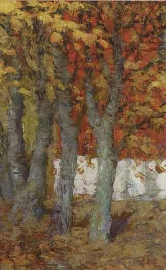 ROBERT RAFAILOVICH FALK (1886-1958) Autumn Leaves