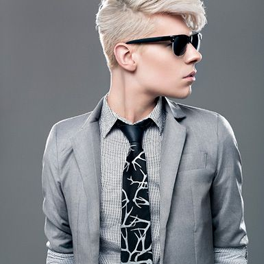 Men's Fashion - Photo by Luke Copping #suit #shades #tie