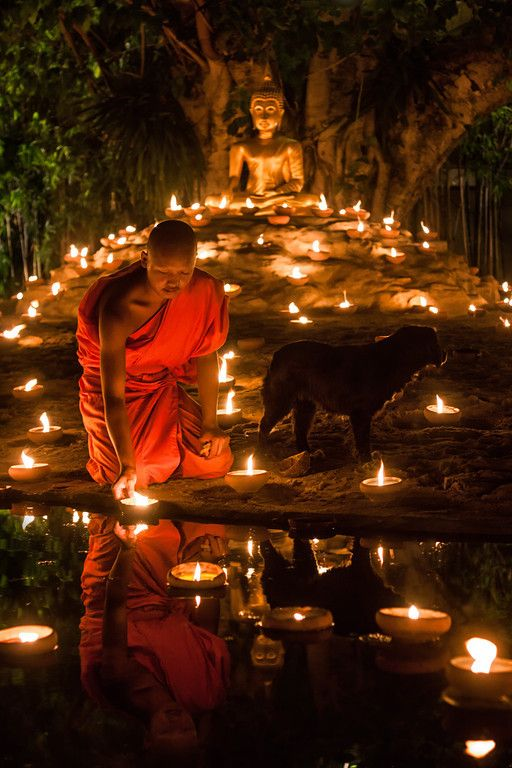 Yi Peng: The festival of lights in Chiang Mai, Thailand.