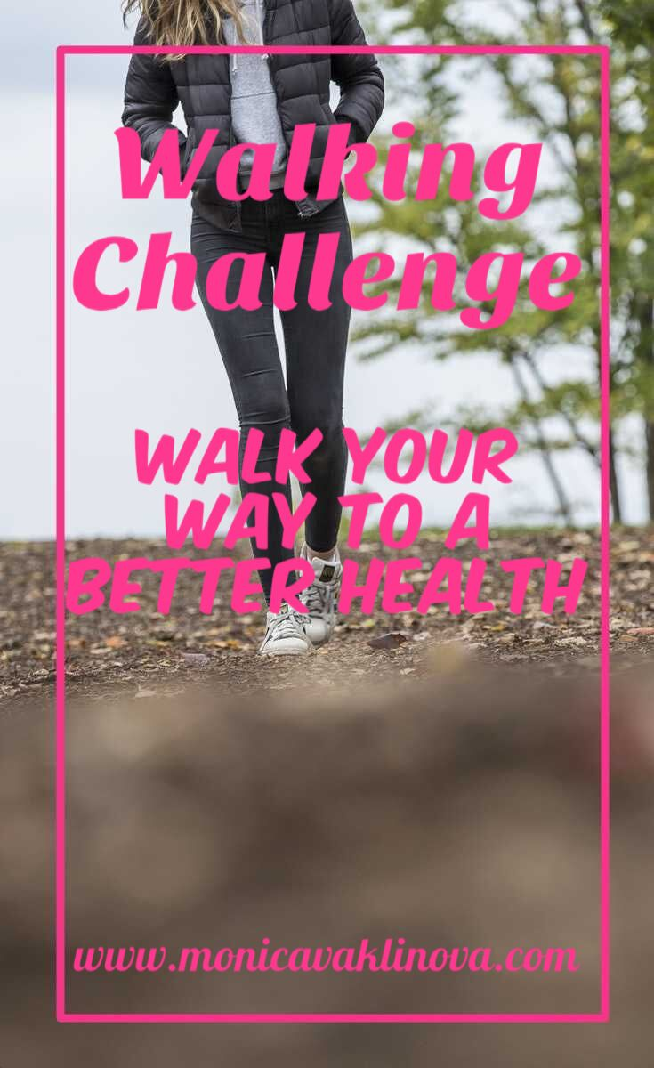 Top benefits of walking! This walking challenge will make you walk your way to a better health!