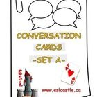 Here are some conversation cards to have your students speak!...