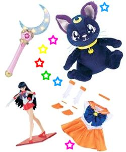 Where can I buy Sailor Moon merchandise in Japan?