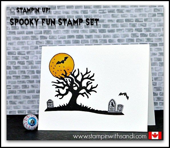 stampin up spooky fun in 10 minutes or less halloween 2016halloween ideashalloween - Stampin Up Halloween Ideas