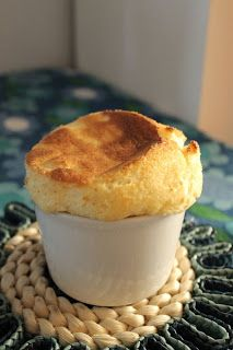 Amond Semolina Souffle with Plum Jam (translator in sidebar)