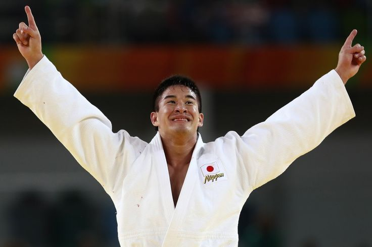 リオ五輪第5日。柔道。ベイカー茉秋が男子90kg級で金メダル=ブラジル・リオデジャネイロ