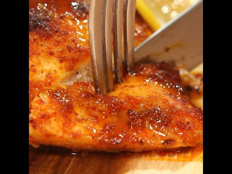 Sweet & Spicy Chicken - YouTube