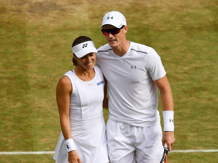 Wimbledon 2017: Jamie Murray and Martina Hingis win to set up prospect of facing Heather Watson in final