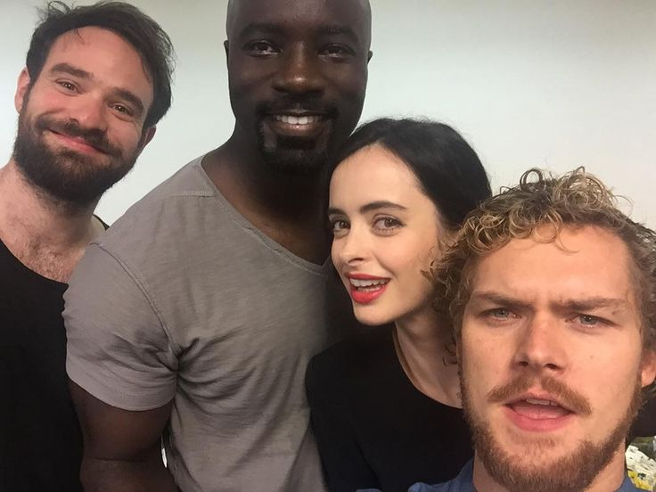 The Defenders Power man Iron fist Jessica Jones Daredevil