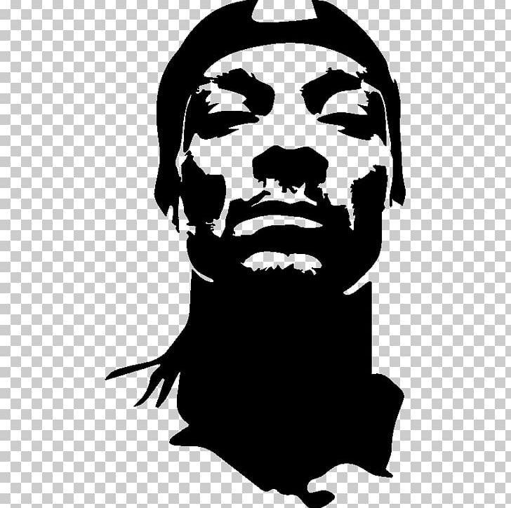 Snoop Dogg Musician Stencil Png Beard Beautiful Black And White Celebrities Decal Art Stencil Street Art Rapper Art