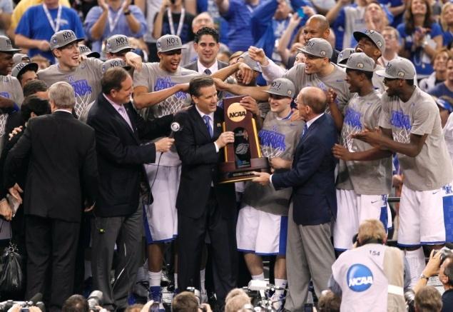 University of Kentucky Wildcats  2012 NCAA Men's Basketball Champions