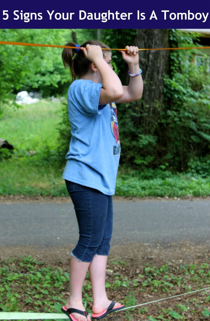 You Know Your Daughter Is A Tomboy When... http://makobiscribe.com/signs-your-daughter-is-a-tomboy/