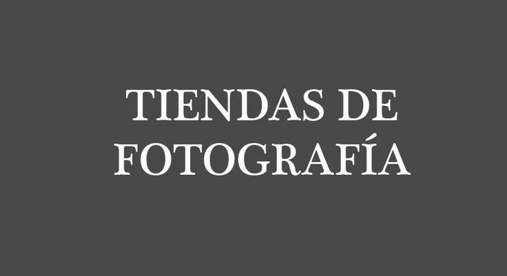 listado tiendas fotografia (España)