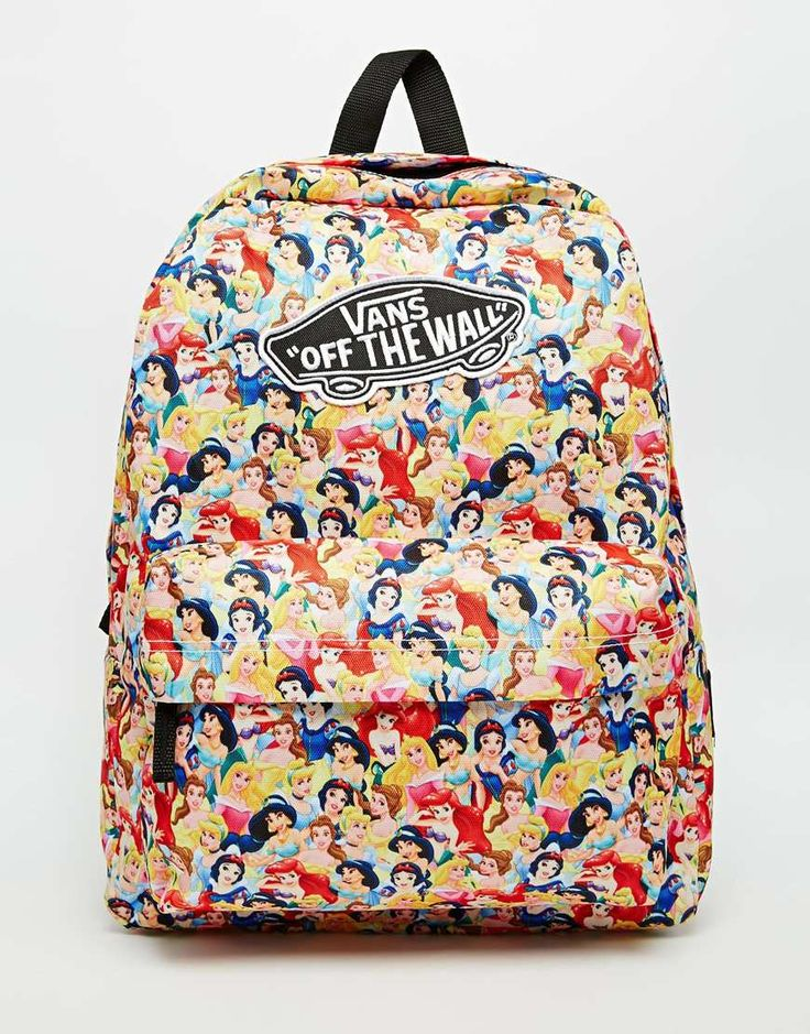 Vans x Disney Princess Backpack. Everything Vans and Disney is awesome.