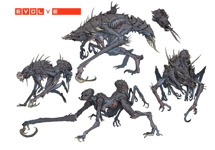72 best images about Evolve monsters - 59.3KB
