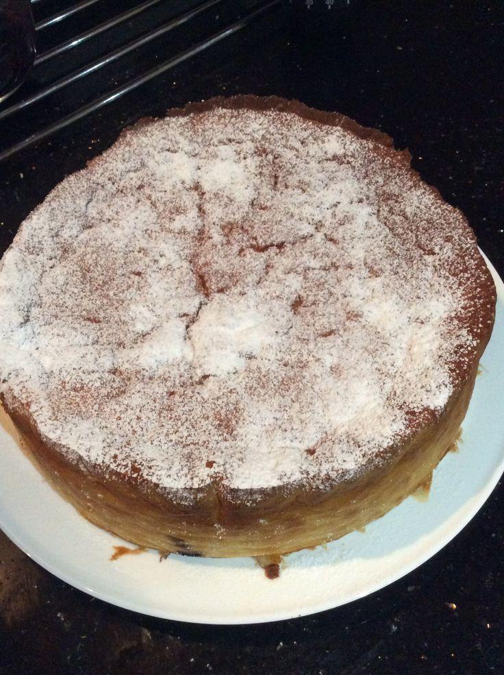 Orange rice cake - recipe from Two greedy Italians eat Italy
