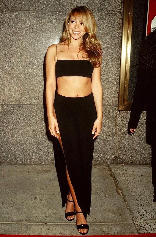Mariah Carey at the 1997 MTV Music Awards