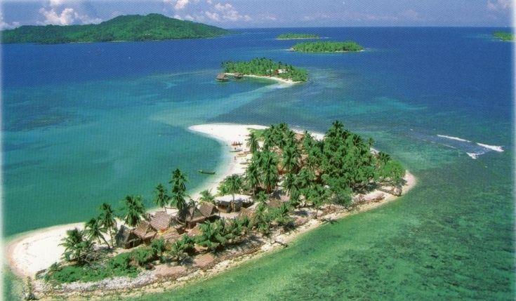 Ostrovy Bay a Hog, Honduras