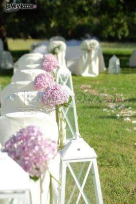 http://www.lemienozze.it/gallerie/foto-fiori-e-allestimenti-matrimonio/img27877.html Fiori per il matrimonio lilla per l'addobbo della cerimonia