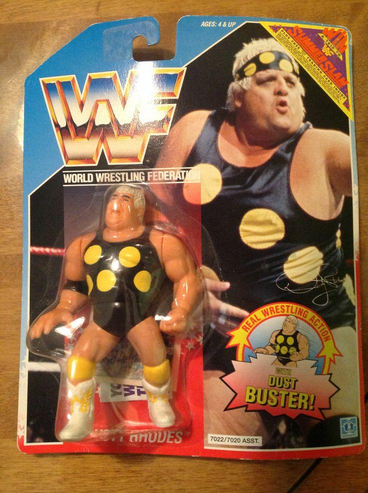 Dusty Rhodes WWF WWE Hasbro Figure MOC #Hasbro