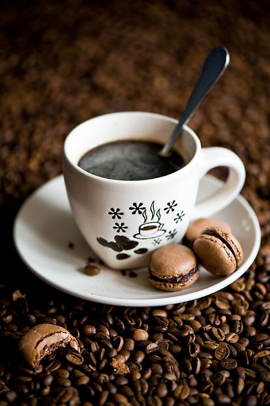 Открытка по кофе