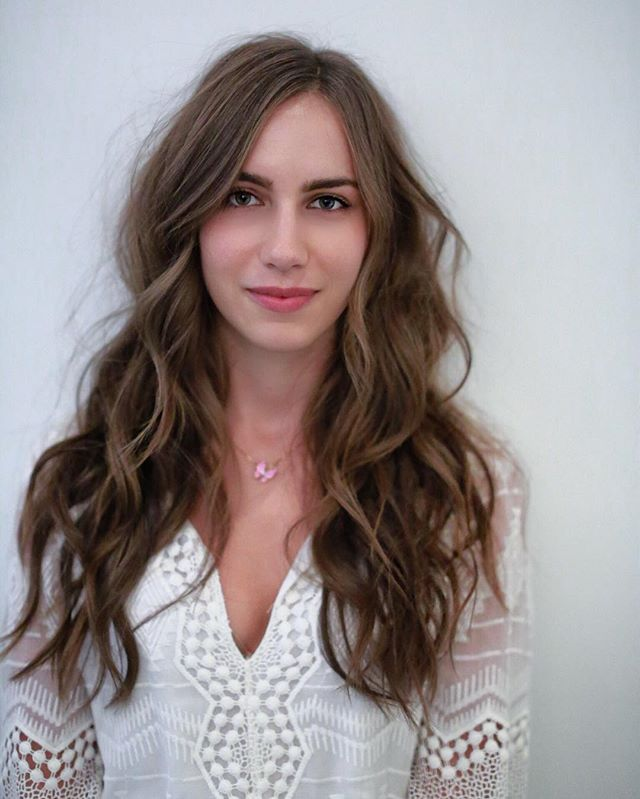 Browse Instagram-approved long hair inspiration  at @stylecaster | tousled big curls