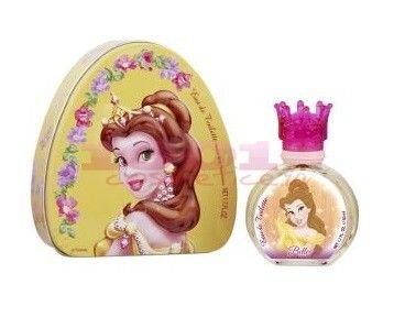 Parfumurile Disney sunt la fel de populare precum basmele din lumea Disney. Parfumul Disney Princess Belle a fost creat  pentru toate fetele ce viseaza la o lume a basmelor si adora sa imbrace  haine si bijuterii frumoase, transformandu-se astfel, in printese.Acesta se deschide cu o combinatie  delicata de bergamota si gardenie, iar mai apoi se indreapata usor catre  tonurile centrale, dominate de esente de crin, iasomie intensa si  ylang-ylang. Notele de baza sunt indulcite de ...