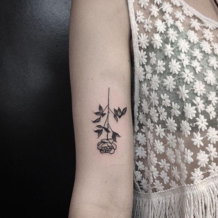 Rose by Evan Davis at Banshee Tattoo in Nashville, TN // @evandavistattoo on instagram