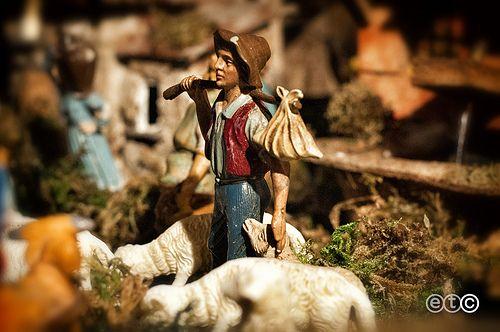 Il pastore del presepe