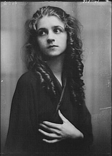 Isadora Duncan dancer, between 1915 and 1923.Baila, baila y bailaTrágico destino para una bailarina atípica.