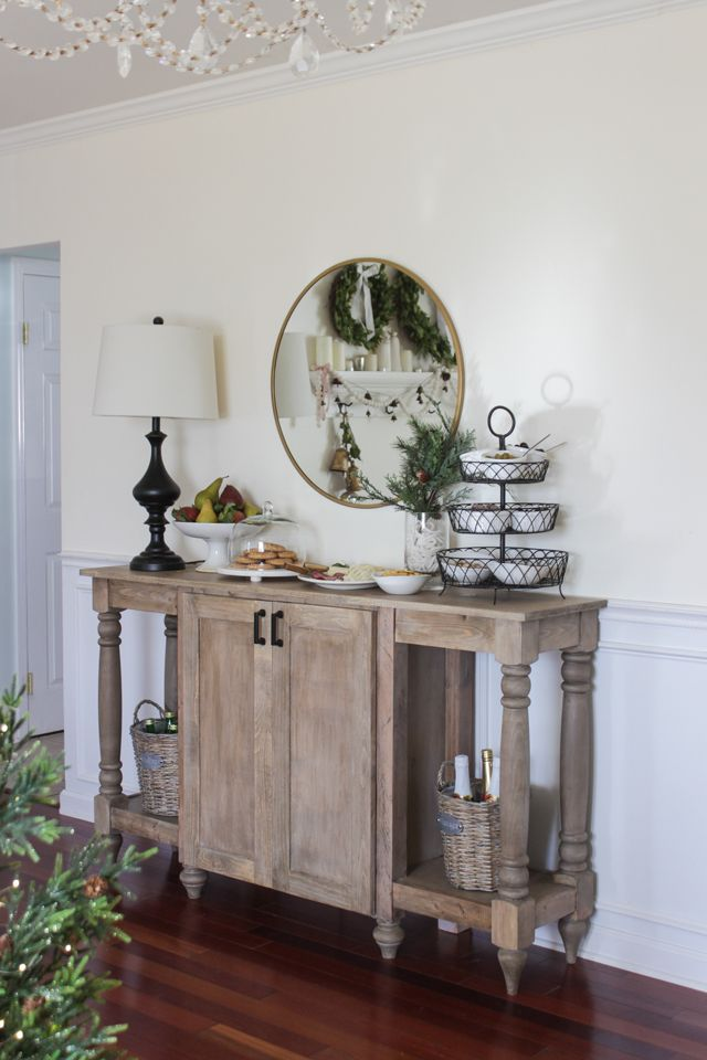 25 Best Small Buffet Table Ideas On Pinterest
